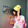 【みおりん】夏祭りを満喫している市川美織の浴衣姿、かわいすぎ!【ゆかた祭り】