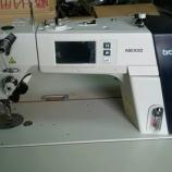 『横浜のお客様向け ブラザー製S-7300A-433P(電子送り本縫いダイレクトドライブ自動糸切りミシン)のセットアップと試し縫いをしました!』の画像