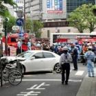 『神戸・三宮で車暴走 4人重軽傷JR三ノ宮駅北』の画像