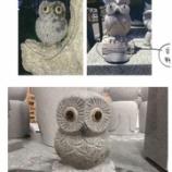 『ふくろう 彫刻 石彫品』の画像