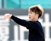 来季育成契約の阪神・横山、ドラ4斎藤と母校で合体トレ リハビリ「まずまず」