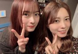 珍しいw 鈴木絢音&斉藤優里のキレイで可愛い2ショットがコチラwwwww