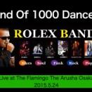Rolex-BANDのライブ動画をyoutubeにUPしました