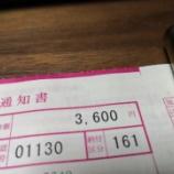 『Ninja250の税金は3,600円です』の画像