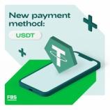 『FBSが、入金方法に米ドルテザー「USDT」を追加!わずか1ドルから利用できます。』の画像