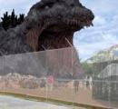淡路島に巨大ゴジラのアトラクション 来年オープンへ