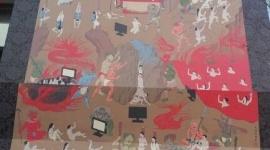 フジテレビ、大炎上した「地獄絵図看板」をこっそり撤去