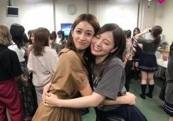 挟まれたいw 白石麻衣×宮沢セイラ「会えてうぅってなったよ」
