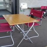 『シンプルで使いやすい机(テーブル)と椅子を見つけた!おすすめですよ!』の画像