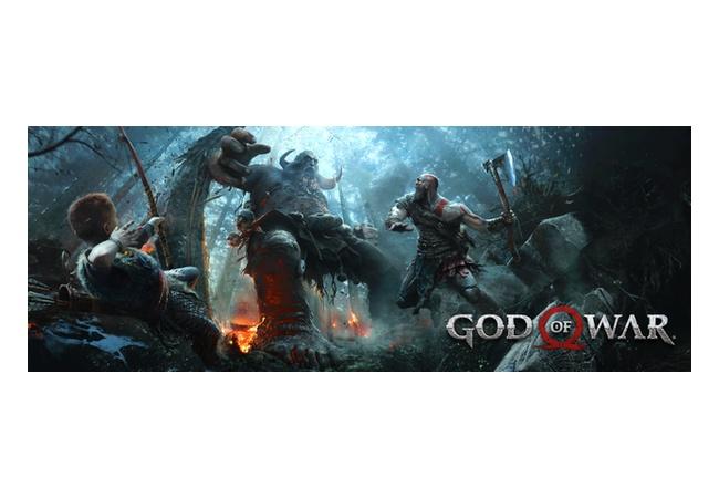 『God of War』メタスコア94点評価!かなり期待できそう