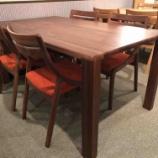 『【キッチンの隣に置くお勧めダイニングセット】東亜林業・アルコとT+S-01角Rテーブル』の画像