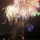『昨晩は富山県で最も早い花火大会が繰り広げられました。』の画像