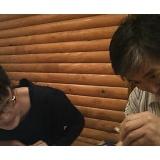 2010年2月16日(火) 青空倶楽部「釣り部仕掛け作りの会&呑み会」のサムネイル