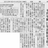 『(読売新聞)戸田市今年も「若い街」平均年齢、17年連続最も低く』の画像