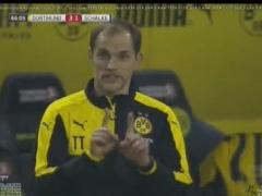 【 GIF 】試合中に魔法使いのような動きをするドルトムント・トゥヘル監督wwww
