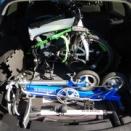カローラツーリングへの折りたたみ自転車車載の顛末