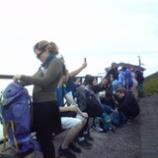 『只今、富士山登山中』の画像