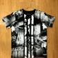 綿Tシャツ・総柄