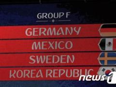 【 W杯F組 】ドイツ、メキシコ、スウェーデン、韓国【 死の組 】