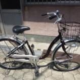 『リサイクル自転車 ブリヂストンサイクル 26インチ軽快車 アルミ製』の画像