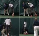 【動画】 激おこテニス選手がラケット投げ線審直撃。倒れて動かない線審…そして