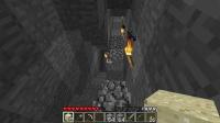 地下坑道へのトロッコ線に着工
