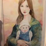 『【乃木坂46】なんか怖いw 台北公演に贈られた、ファンが描いた『聖母まいやん』がこちらwwwwww』の画像