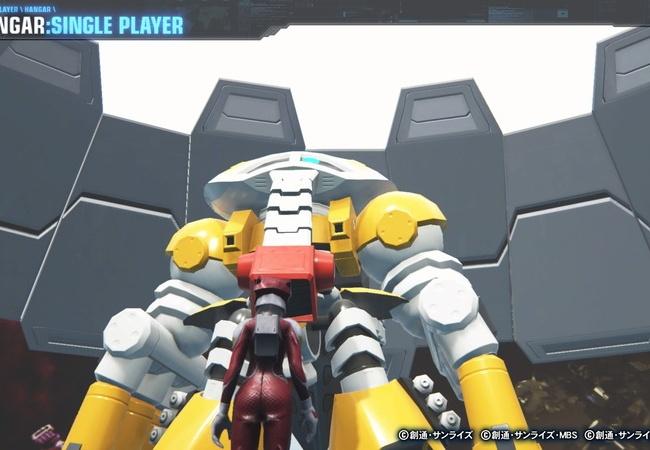 【ガンダムブレイカー3】パイロットスーツの粋な計らい