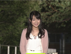 NEWS ZEROの気象キャスター・磯貝初奈さんが「ブス可愛い」と話題に