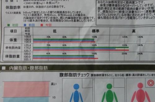 ワイ筋トレ民、人生三度目のinbody測定した結果wwwwwのサムネイル画像