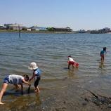 『都内で思う存分砂遊び!平和島公園の海岸で遊んできた話』の画像