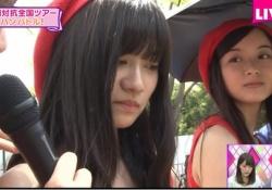 元乃木坂46・佐々木琴子、なぜか一人だけ女優日傘・・・?www