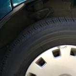 『新品タイヤ』の画像