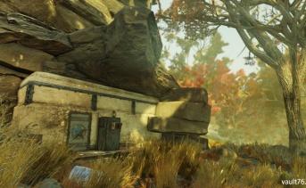 放棄されたバンカー(Abandoned Bunker)