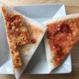 『【詐欺】ハリボテサンドイッチに対して「タマゴが配置されるべき位置から少しずれたために薄くなってしまっています」←????????』の画像