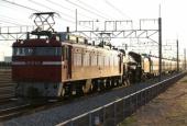 『2014/12/9~10運転 EF81-133牽引C61-20配給』の画像