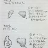 『耳あな型(オーダーメイド補聴器)オーダーメモ』の画像