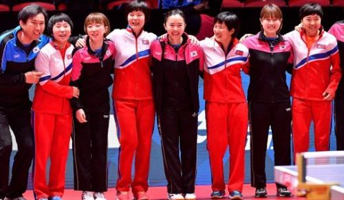 世界卓球で対戦予定の韓国と北朝鮮が一転して統一チームを結成 海外の意見は賛否分かれる
