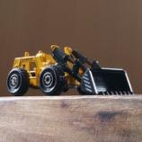 『ダイソー 働く車 ブルドーザー』の画像