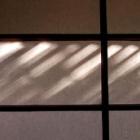 『障子の光と影』の画像