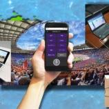 『清水と磐田が実験協力 ヤマハの新技術に注目!「リモート応援システム」自宅からスタジアムに声援を!!』の画像