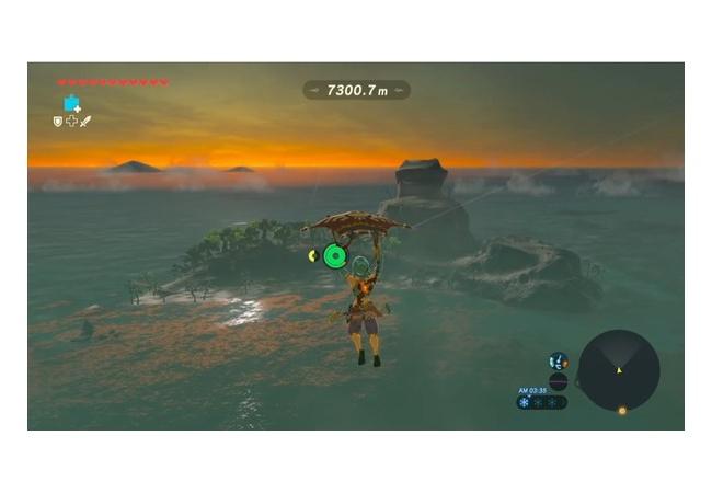 【ゼルダの伝説 ブレスオブザワイルド】鳥人間チャレンジで7000m以上飛ぶwwwwwwww