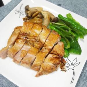 鶏もも肉のペッパーソース焼き