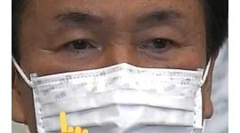 【新型コロナ】千葉の森田知事、緊急会見でマスクを逆に装着wwwww