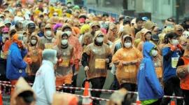【新型肺炎】熊本城マラソンのランナーの姿がこちらwwwww