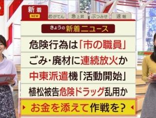大木優紀 スーパーJチャンネル 20/01/20