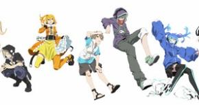 TVアニメ『メカクシティアクターズ』エネ、コノハ、カノ、キドの新版権絵キタ━━ヽ(゚∀゚ )ノ━━!!!!