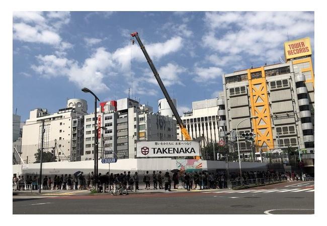 スプラトゥーンとコラボのタワレコ渋谷の行列がヤバイ