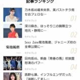 『【乃木坂46】速報!!!堀未央奈が第1位に!!!!!!!!!!!!』の画像