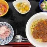『藤塚昼食(ミートスパゲティ)』の画像